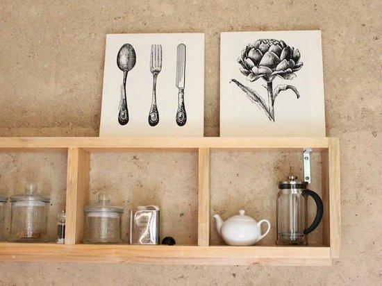 The EarthHouse: Breakfast Pantry.