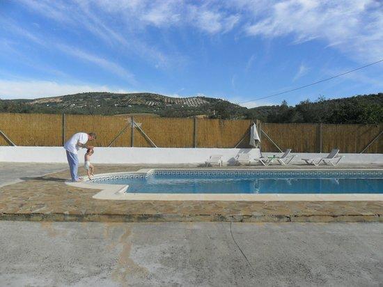 Cortijo Las Olivas: Early morning dip