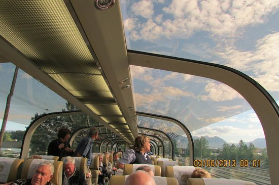The Rocky Mountaineer: Inside the Gold Leaf carriage