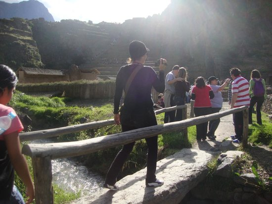 Patacancha  Valley: Trayecto y ascenso en Ollantaytambo