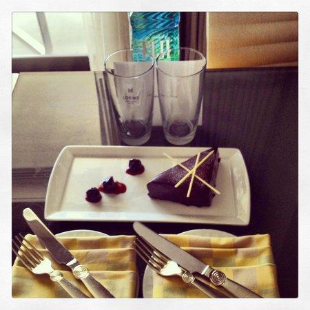 birthday cake Picture of Loews Miami Beach Hotel Miami Beach