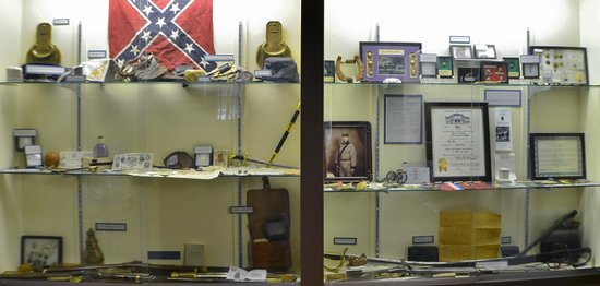 South Wood County Historical Museum: Part of the extensive display of American Civil War artifacts