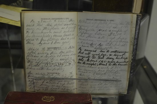 South Wood County Historical Museum: Civil War Diary Of J. Wilbur Cochran