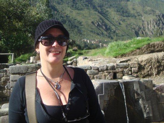 Patacancha  Valley: Después del descenso de Ollantaytambo.