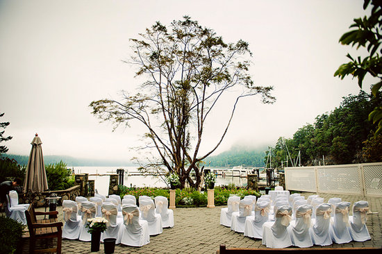 Poets Cove Resort & Spa: Host your wedding ceremony on our ocean side terrace