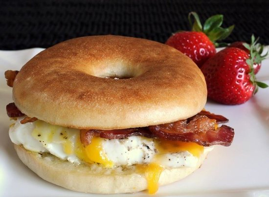 Cafe Bonjour: Bacon Egg N Cheese