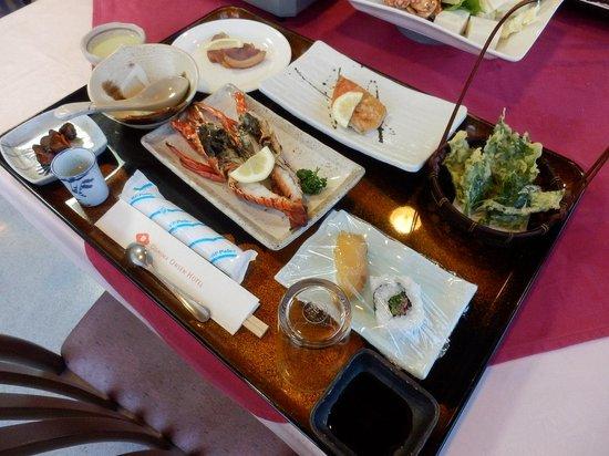 Oshima Onsen Hotel: 夕食