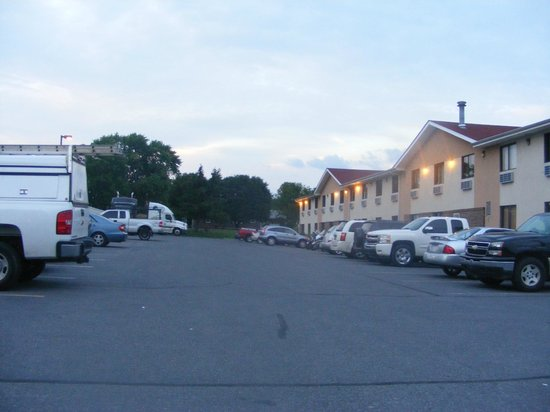 Super 8 Winchester VA: As you enter the parking lot
