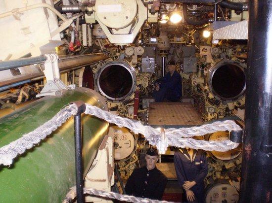 U-Bootmuseum U-434: o interior