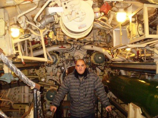 U-Bootmuseum U-434: uma das áreas