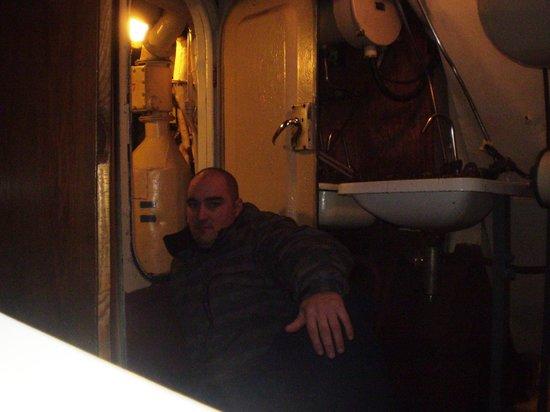 U-Bootmuseum U-434: cabines