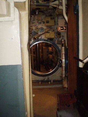 U-Bootmuseum U-434: zona de passagem
