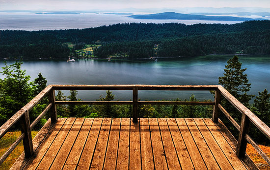 Poets Cove Resort & Spa: Mt.Norman is the highest point on Pender Island, let Poets Cove staff take you there on a guided