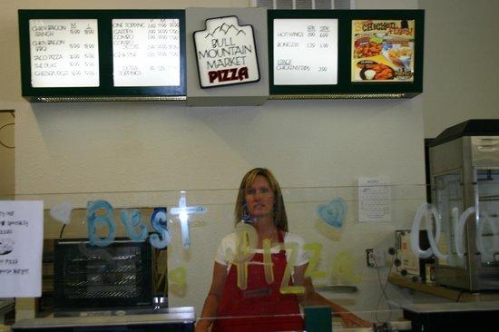 Bull Mountain Market Pizza & Deli : Bull Mtn. Pizza