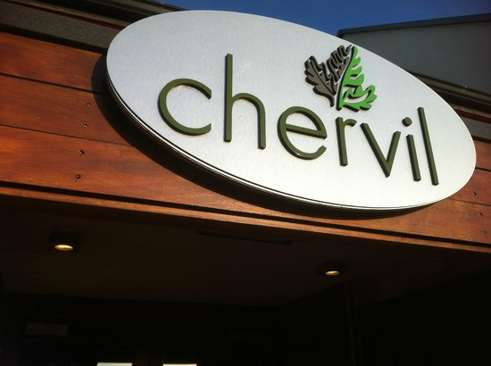 Chervil Restaurant : Front Entrance