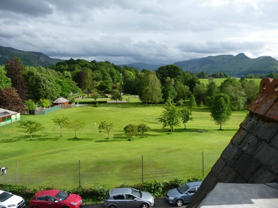 Burleigh Mead Hotel: view from Room 5