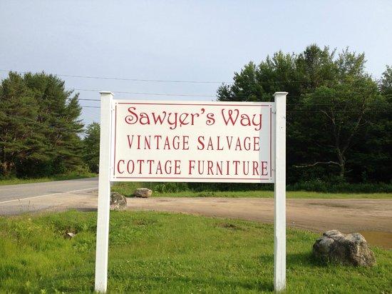 Edgecomb, Maine: Sign