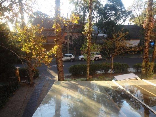 Pousada Aguia Branca: Vista da janela