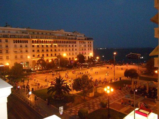 Electra Palace Hotel Thessaloniki: Θέα στην Αριστοτέλους