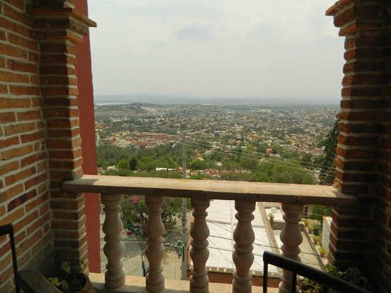 Hotel Suites El Mirador: View form outside our room