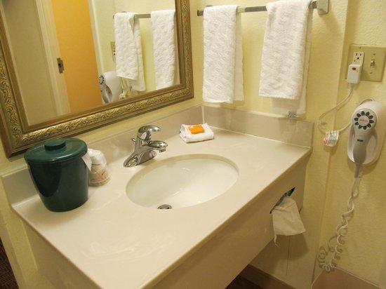 La Quinta Inn & Suites Warwick Providence Airport: Sink area- Room 523