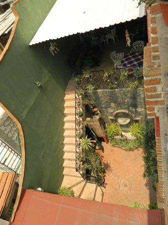 Hotel Suites El Mirador: Stairs