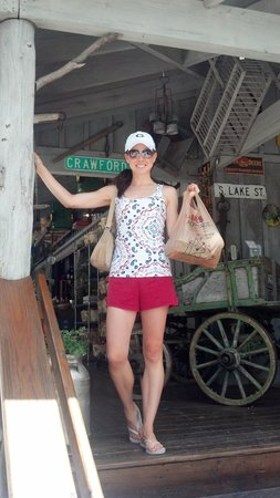 Always a happy girl when I stop at the Cashiers Farmers Market!