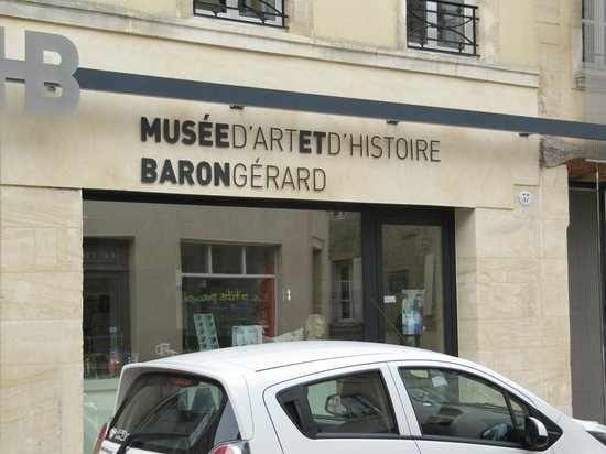 Musee Baron Gerard: Next to the Cathedral - look for it