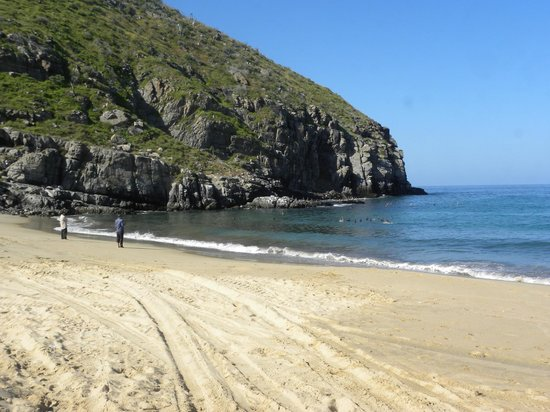 Sol Pacifico Cerritos: Remote beach near Pescadore