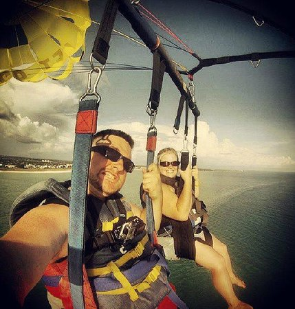 Siesta Key Watersports: Taken with the GoPro Hero at 1200 feet above Siesta Key, FL
