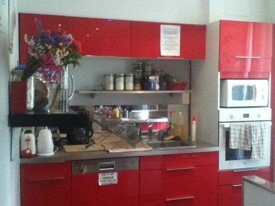 Hotel Meyerbeer Beach : Cocina, self service :)