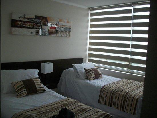 Alvavi Apart Hotel : Dormitorio en suite