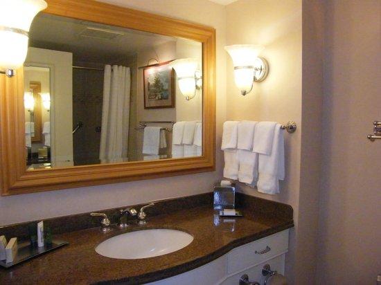 Bathroom Mirrors Honolulu bathroom in kalia tower room - picture of hilton hawaiian village