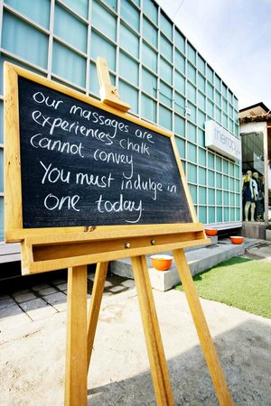 Therapy: Daily Message Chalk Board