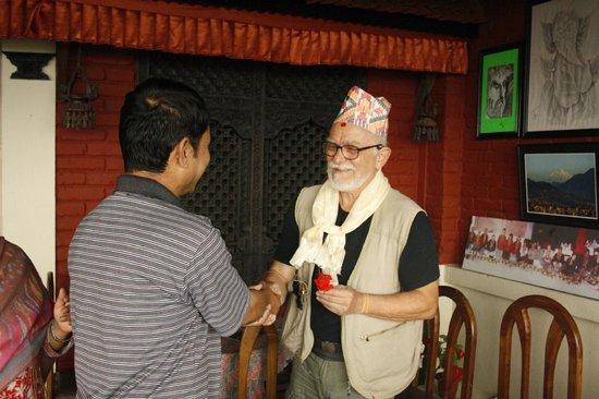 Kirtipur Hillside Hotel & Resort: farewell