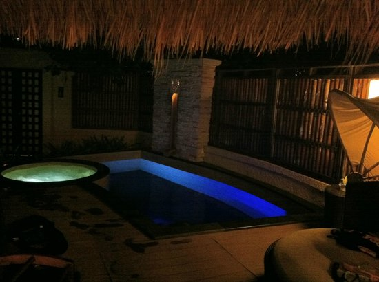 Banyan Tree Vabbinfaru: Private pool & Jacuzzi