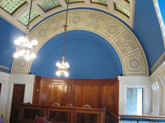 Landmark Center : Restored former courtroom.