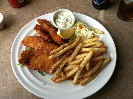 Foraker Restaurant: Fish & Chips