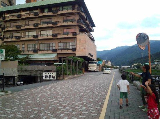 Toi Fujiya Hotel: 海まで5分、川沿いに建ってます。