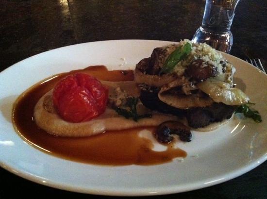 Brasserie L'ecole: beef paleron with cauliflower purée
