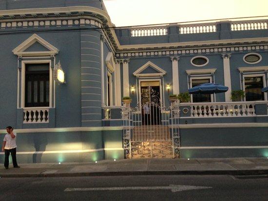 Casa Azul Hotel Monumento Historico: Entrance