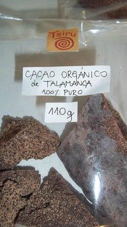 Iriria Tienda Verde: Organic cacao