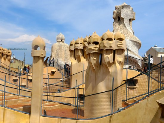 ForeverBarcelona: Rooftop of Casa Mila