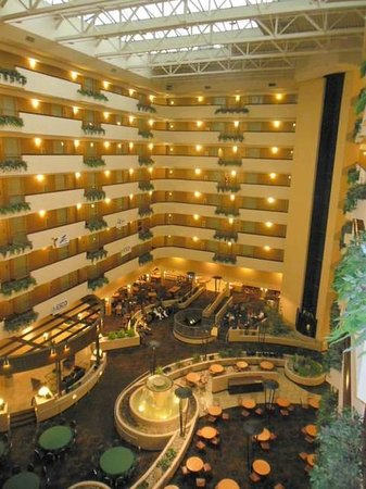 Embassy Suites by Hilton Kansas City-International Airport : Inside view