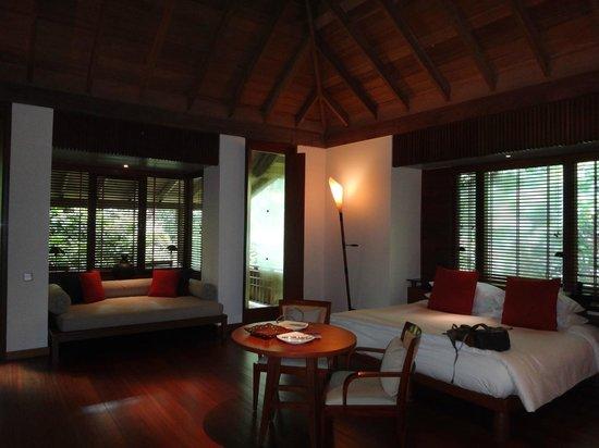 The Datai Langkawi: rainforest villa bedroom