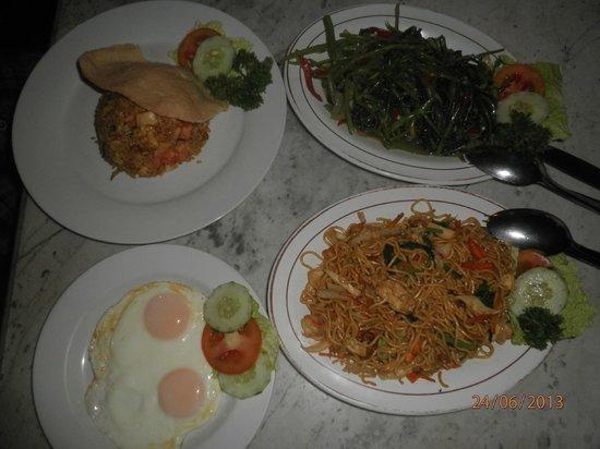 Pantai Restaurant: dinner