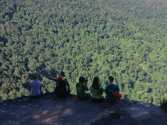Bobbys Apartment and Jungle Tours: Khao Yai viewpoint with our guide, Ben!