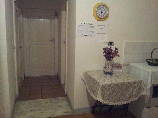 Palazzo della Marra: common kitchen
