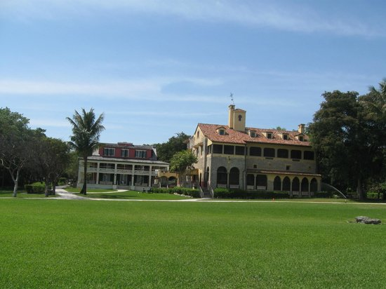 Deering Estate: lovely views from the ground