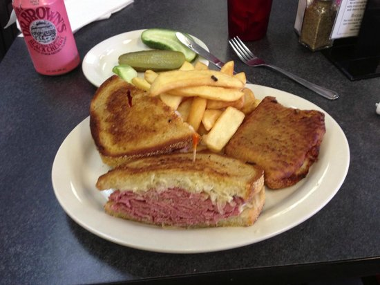 Pastrami Club: The Ruben with a New York Knish